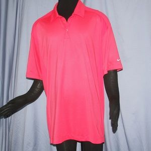 Nike Short Sleeved Collared Golf Shirt
